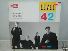 """*** Level 42"""" LESSONS IN LOVE"""" ***"""