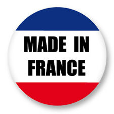 Pin Button Badge Ø38mm Made in France 100% Francais Fabriquer en France