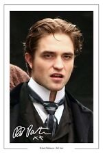 ROBERT PATTINSON AUTOGRAPH SIGNED PHOTO PRINT WATER FOR BEL AMI