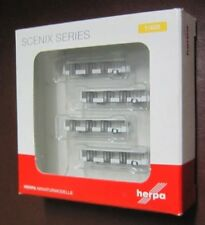 herpa Airport Accessories: Airport bus set (four pcs.) 1:400 #562409
