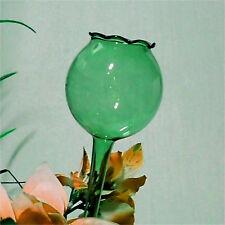 Türkis Grüne Gießkugel Bewässerungskugel Wasserspender welliger Rand 4 Größen