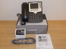 NEU Cisco Linksys SPA962-EU 6-Line IP Phone SIP Telefon +PA100 Netzteil NEW OPEN