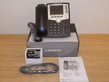 NEU Cisco Linksys SPA962-EU 6-Line IP Phone SIP Telefon +PA100 Netzteil NEW OPEN