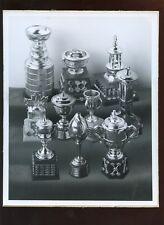 NHL Hockey Trophies 8 X 10 Photo