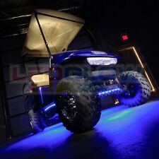 """Golf Cart Under Body LED Light Kit - four 24"""" flexible tubes 108 LEDs - UB000"""