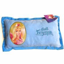 VENTA! Barbie samtweiches Cojín Fairytopia azul NUEVO