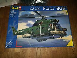 Revell 04412 SA 330 Puma Bundesgrenzschutz 1/32