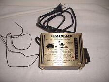 MRC MODEL RECTIFIER CORPORATION TRAINPACK MODEL 100 HO TOY TRANSFORMER WORKING