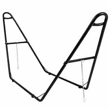 Adjustable Universal Steel Hammock Stand- For All Hammock Types 9'-14' Long