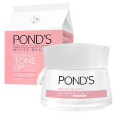 POND'S White Beauty Instabright Tone Up Milk Dull Facial Cream UV Cosmetic 50 g