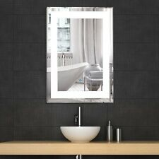 LED Bathroom Lighted Vanity Wall Mirror for Make up Dimmable w/ Touch Button New