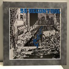 "SS Decontrol ""Get it away"" Pro Matted Album Art, Rock, Boston Hardcore 12""x12"""