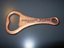 FIRESTONE WALKER official Logo Classic BOTTLE OPENER craft beer brewing