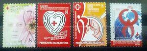 Macedonia 2011 Charity stamps MNH