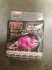 BMX Pink Half Link Bicycle Chain MK918