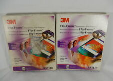 Lot of 100 3M Flip Frame Transparency Film Protectors RS7110