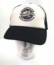 Nashville Rollergirls Roller Derby Skate Trucker Cap Hat Adjustable Otto B&W