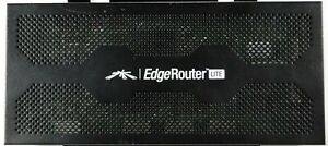 Ubiquiti EdgeRouter Lite (ERLite-3) 1M Packets / Second Router Tested & Working