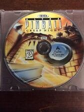 3-D Ultra Pinball: Creep Night Pre Owned Disk Only (PC, 1996)