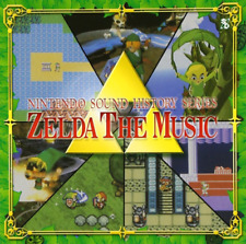 GAME MUSIC-NINTENDO SOUND HISTORY SERIES: ZELDA THE MUSIC-JAPAN CD E25