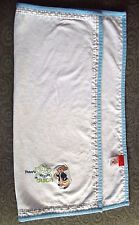 Peter Rabbit Blue White Receiving Blanket Baby Boy By Frederick Warne 2006