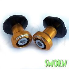 BIKETEK Swing Arm Paddock Stand Spools/Bobbins Yamaha YZF R1 R6 6mm Gold