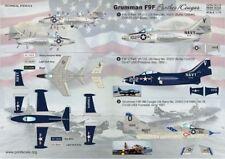 Imprimé échelle 1/72 Grumman F9F Panther et COUGAR Nº 72113/*