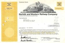 Norfolk and Western Railway Compagny Certificate 1976 (901342)