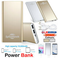 Portable Power Bank Fast Charging 10000mAh Ultra-thin External Battery Charger