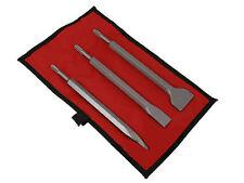 De Rechange 3 Pièces Marteau burin Set to fit CT0721 et CT0722 en toile Case