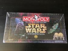 Monopoly 1997 Star Wars Limited Collector's 20th Anniversary Edition Sealed
