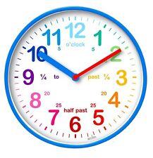 Acctim Wickford Kids Blue Wall Clock