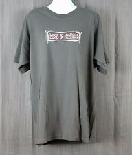 "James Blunt Tour 2006 ""back to bedlam"" Gray Short Sleeve T-Shirt Men's Large"
