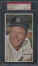 1964 Topps Giants #25 Mickey Mantle HOF  PSA 7  NM 56572