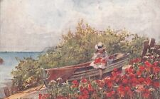 CROMER : POPPYLAND-Girl in a boat - PARSONS-NORMAN -JARROLDS series