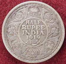 Rupia India Medio 1919 (E0901)