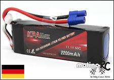 2200mAh | 3S | 50C | EC3  Lipo 11,1V | Akku Batterie | XT60 Li-Po KPAmax | BRD
