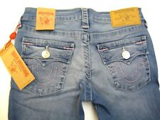 NWT Girls True Religion sz 6 Jeans Flap Back pockets  Medium blue deniim