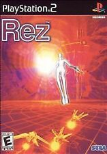 Rez  Rare Fun Game (Sony PlayStation 2,) Fast Free Shipping Complete Adult Owned
