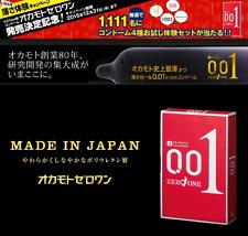 Okamoto 001 0.01 Polyurethane Condom Box  3 Counts