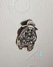 "RARE Authentic HALLOWEEN  Pandora ""Witch"" Charm - 790544 - retired"