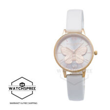 Olivia Burton Ladies' 3D Butterfly Blush & Rose Gold Watch OB16MB16