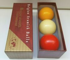 BILLIARD BALLS CAROM BALL SET Super Aramith Tournament 61.5 mm BELGIAN BILLIARDS