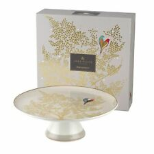 Portmeirion Sara Miller Chelsea Collection Footed Cake Stand Light Grey