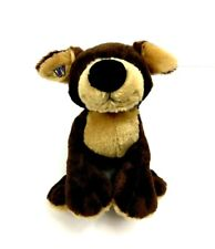 Ganz Plush Webkinz Mocha Pup Toy Brown Tan Soft Stuffed Animal Dog