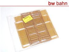 Kibri H0 Bausatz 4100-17 / 41001-17 Holz-Gartenzaun Hölzer Bretterstapel Neu