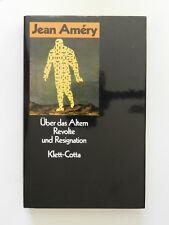 Über das Altern Revolte und Resignation Jean Amery Klett-Cotta