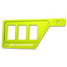 Lime Squeeze Polaris RZR XP1000 Left Side 3 Switch Dash Panel Off Road UTV SXS