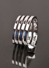 NEW TOM FORD for GUCCI WHITE GOLD WRAP RING Size 7.5