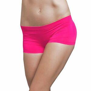Seamless Club Dance Exercise Activewear Yoga Boy shorts Mini Panties Bike Shorts